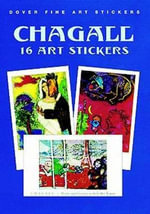 Chagall : 16 Art Stickers - Marc Chagall