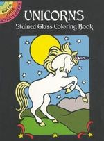 Unicorns Stained Glass Colouring Book - Marty Noble