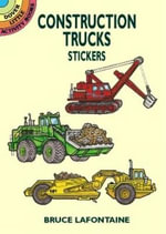 Construction Trucks Stickers - Bruce LaFontaine