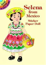 Selena from Mexico Sticker Paper Doll - Yuko Green