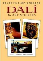 Dali : 16 Art Stickers - Salvador Dali