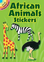 African Animals Stickers : Dover Little Activity Books Stickers - Winky Adam