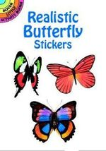 Realistic Butterfly Stickers : With 33 Reusable Peel-And-Apply Stickers - Jan Sovak