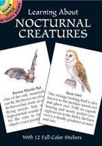 Learning About Nocturnal Creatures : Dover Little Activity Books - Sy Barlowe