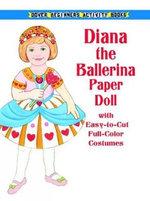 Ballerina Paper Doll - Anna Pomaska
