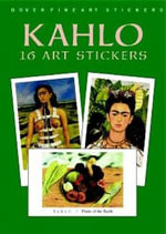 Kahlo : 16 Art Stickers - Frida Kahlo