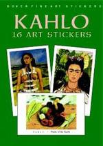 Kahlo : 16 Art Stickers - Frida Kahlo