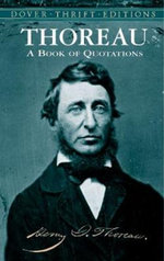 Thoreau : A Book of Quotations - Henry David Thoreau