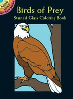Birds of Prey Stained Glass Coloring Book : Dover Pictorial Archives - Ruth Soffer