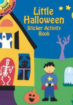 Little Halloween Sticker Activity Book : Dover Little Activity Books Stickers - Winky Adam