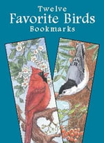 Favorite Birds Bookmarks - Annika Bernhard