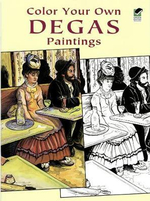 Color Your Own Degas Paintings - Edgar Degas