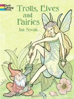 Trolls, Elves and Fairies Coloring Book - Jan Sovak