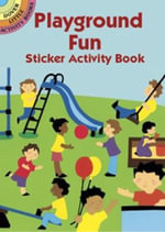 Playground Fun Sticker Activity Book - Winky Adam