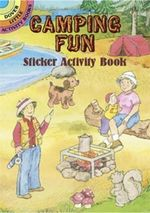 Camping Fun Sticker Activity Book with Sticker - Cathy Beylon