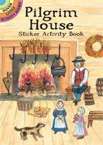 Pilgrim House Sticker Activity Book - Iris Van Rynbach