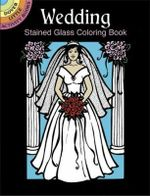 Wedding Stained Glass Coloring Book : Dover Stained Glass Coloring Book - Pat Stewart