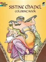 Sistine Chapel Coloring Book - Michelangelo