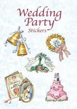 Wedding Party Stickers : Dover Stickers - Joan O'Brien