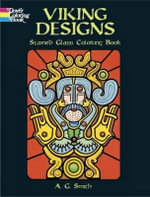 Viking Designs Stained Glass Coloring Book : Dover Stained Glass Coloring Book - A. G. Smith