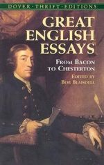 Great English Essays : From Bacon to Chesterton