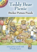 Teddy Bear Picnic Sticker Picture Puzzle - Darcy May