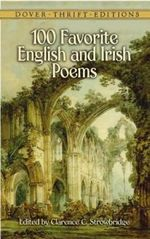 100 Favorite English and Irish Poems : Dover Thrift Editions