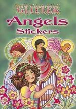 Glitter Angels Stickers - Marty Noble