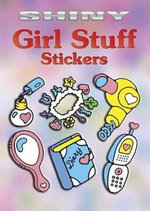 Shiny Girl Stuff Stickers - Robbie Stillerman