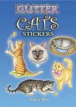 Glitter Cats Stickers - Darcy May