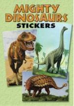Mighty Dinosaurs Stickers : 36 Stickers, 9 Different Designs - Jan Sovak