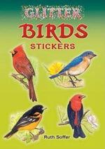 Glitter Birds Stickers - Ruth Soffer