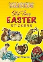 Glitter Old-Time Easter Stickers - Anna Samuel