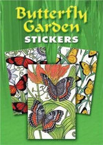 Butterfly Garden Stickers : 36 Stickers, 9 Different Designs - Patricia J. Wynne