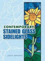 Contemporary Stained Glass Sidelights - Jody Wright