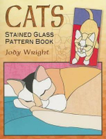 Cats Stained Glass Pattern Book : Stained Glass Pattern Book - Jody Wright