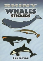 Shiny Whales Stickers : 36 Stickers, 9 Different Designs - Jan Sovak