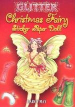 Glitter Christmas Fairy Sticker Paper Doll - Darcy May
