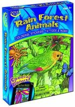 Rain Forest Animals Fun Kit - Dover Publications Inc