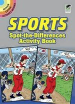 Sports Spot-the-Differences Activity Book - Tony Tallarico