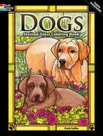 Dogs Stained Glass Coloring Book - Ruth Soffer