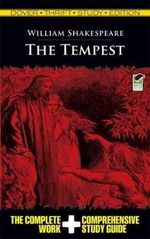 The Tempest : Dover Thrift Study Edition   - William Shakespeare