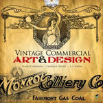 Vintage Commercial Art and Design : The basics and beyond - Frank H. Atkinson