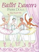 Ballet Dancers Paper Dolls : Stained Glass Coloring Book - Eileen Rudisill Miller
