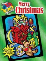 Merry Christmas : Dover 3-D Coloring Books - Ted Menten