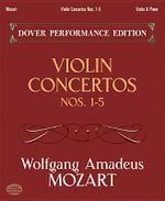 Wolfgang Amadeus Mozart : Violin Concertos Nos.1-5 (Violin/Piano) - Wolfgang Amadeus Mozart