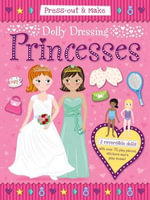 Press-Out & Make Dolly Dressing -- Princesses : Peppa Pig - Press-Out Dolls Plus Outfits - Duck Egg Blue