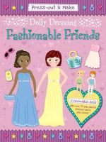 Press-Out & Make Dolly Dressing -- Fashionable Friends - Duck Egg Blue