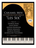 Caramel Mou & Other Great Piano Works of Les Six Pf Bk : Pieces by Auric, Durey, Honegger, Milhaud, Poulenc and Tailleferre - Georges Auric