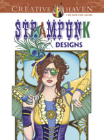 Steampunk Coloring Book - Marty Noble